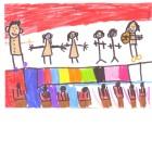 Dessin CP Rym - Atelier de création d' À Table ! avec les primaires de Jean Macé