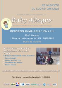 Babyallegro - 13 mai 2015