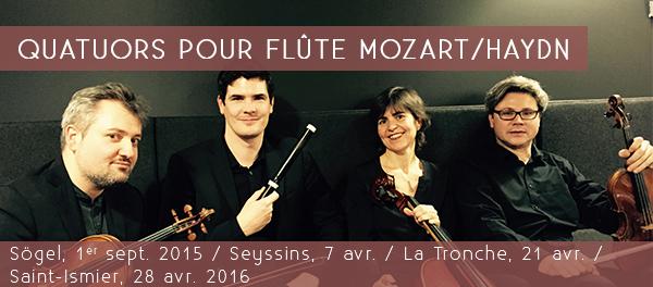 1. Quatuors pour flûte Mozart-Haydn7