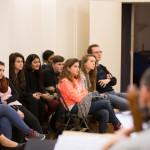 Fondation Deloitte: répétition concert avec les élèves du lycée de Fosses le 1er février2016 au studio la Verrière à Paris