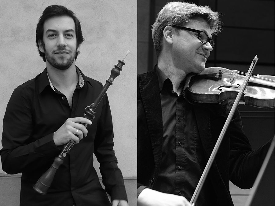 Sonate en trio Mazzoleni et Laporte © Anthony Cottarel